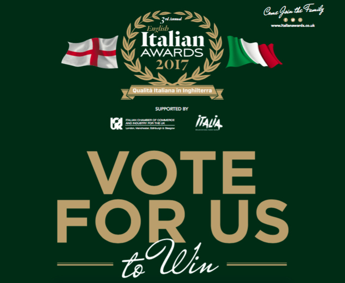 Vote for Nonnas in the English Italian Awards
