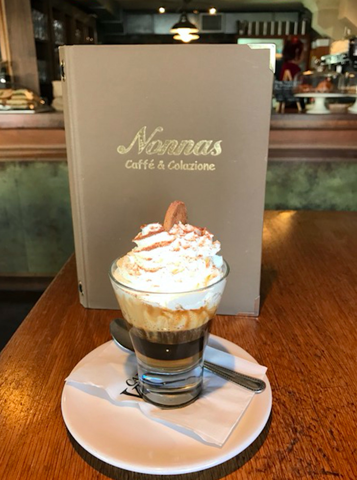 Nonnas goes one better with its new designer coffees!
