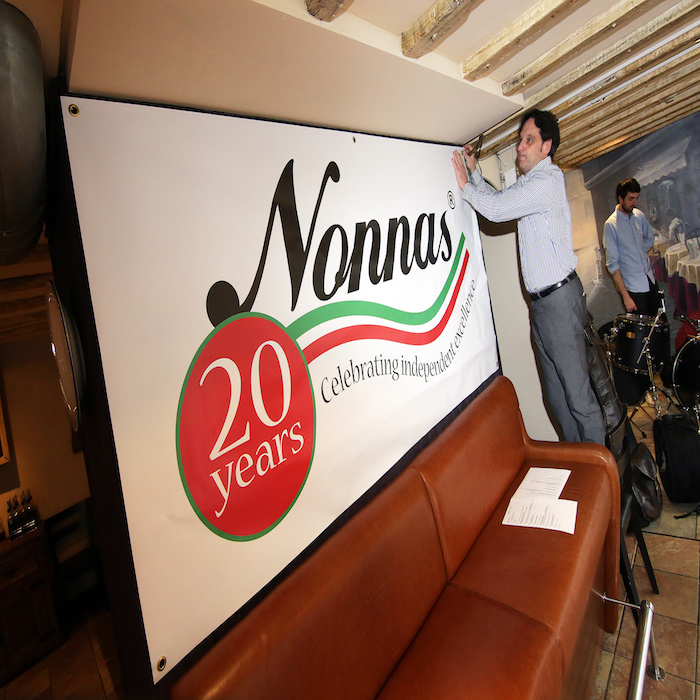 Nonnas 20th birthday party
