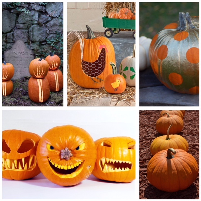 Will your child's pumpkin be a ghoulish to Nonnas this Halloween?