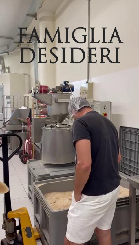 Maurizio Visits the Desideri Factory